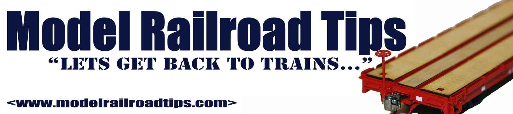 Model Railroad Tips 2.0